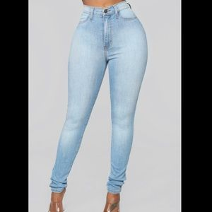 FN high waisted jeans